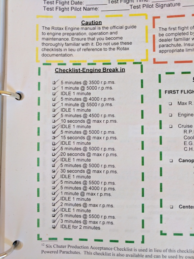 breakin-checklist